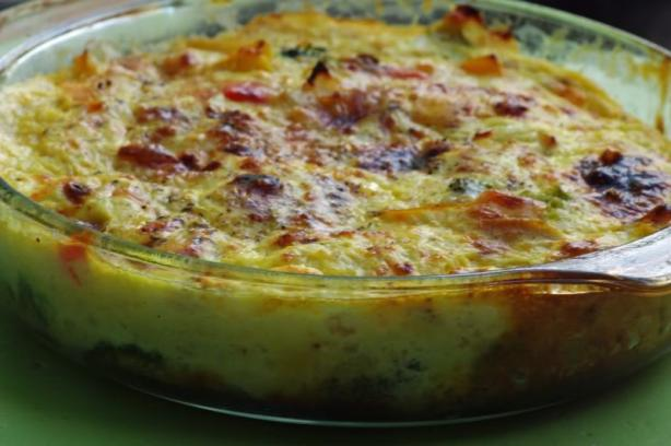 Crustless Broccoli Quiche. Photo by Redsie