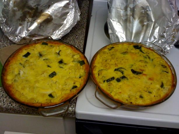 Yellow or Zucchini Squash Pie. Photo by thuey1390