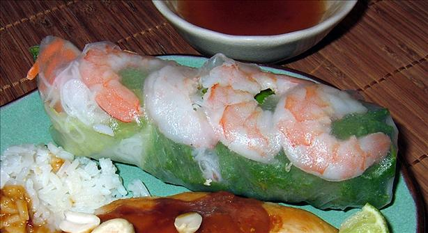 Thai Shrimp Rolls. Photo by PanNan