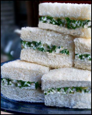 Chicken-Cucumber Party Sandwiches. Photo by NcMysteryShopper