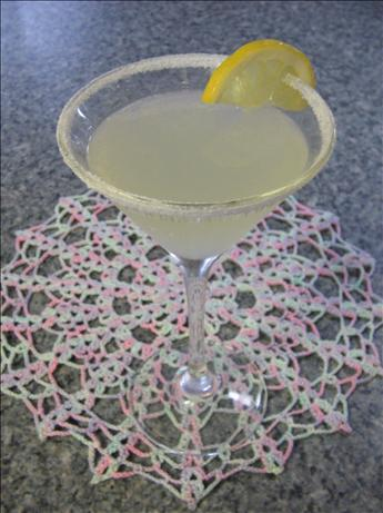 Vincent's Lemon Drop Martini. Photo by Vino Girl