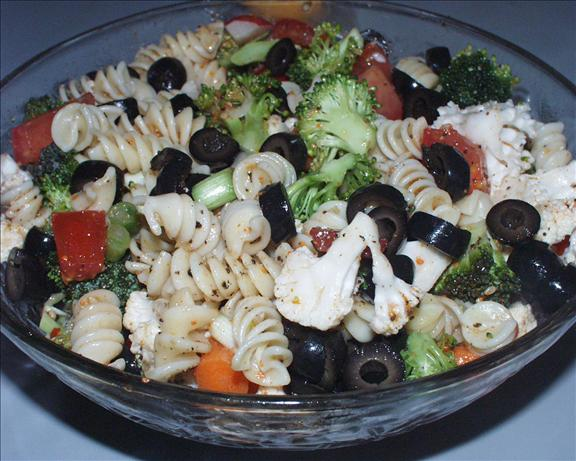 Pasta Salad Supreme. Photo by Marsha D.