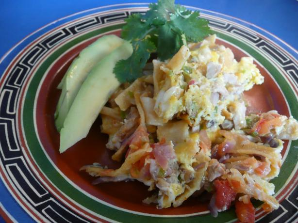 Migas Lite for 2. Photo by cookiedog