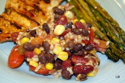 Mexican Bean and Corn Rice Salad. Photo by L00k