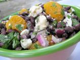 Black Bean and Mandarin Orange Salad