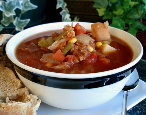 Aunt Gin's Vegetable Soup (Crock Pot). Photo by Marg (CaymanDesigns)