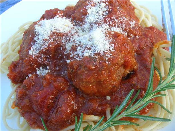 Authentic Italian Meatballs. Photo by Pam-I-Am