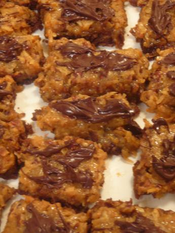 Coconut-pecan Bar Cookies. Photo by BLUE ROSE