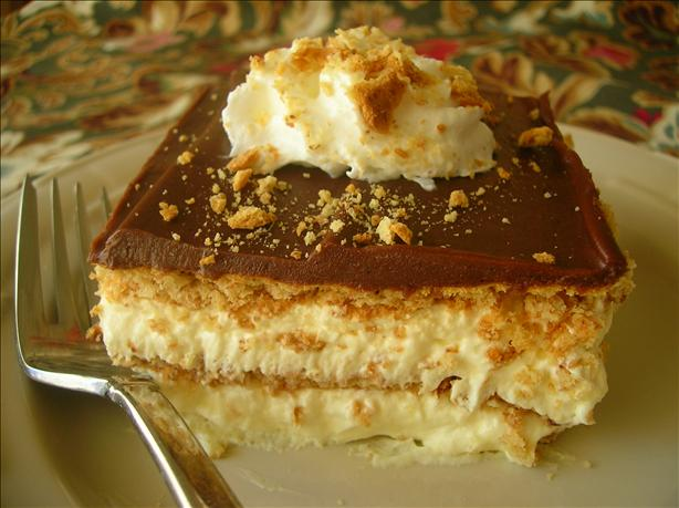 Chocolate Eclair Dessert. Photo by Pam-I-Am