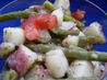 Marinated Green Bean & Red Potatoes Salad. Recipe by Claudia Dawn
