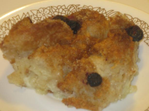 Bread Pudding. Photo by Chef Sarita in Austin Texas