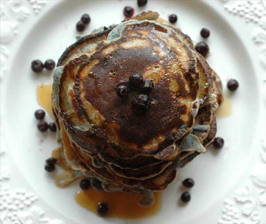 Blueberry Pancakes, Milk-free, Egg-free. Photo by Sackville