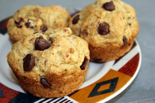 Chocolate Chip Muffins. Photo by The Veganista