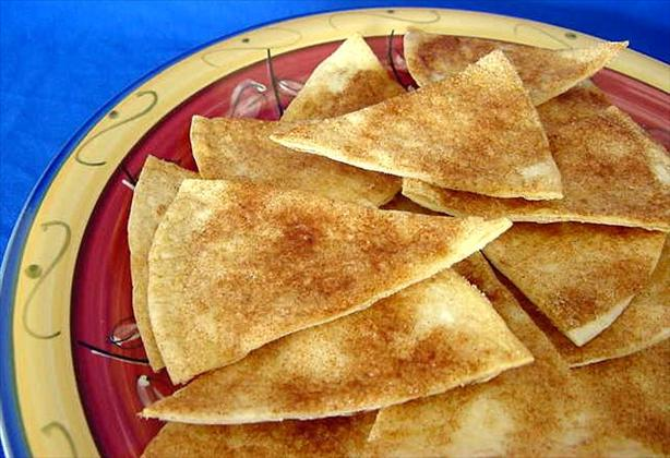 Cinnamon Tortilla Chips. Photo by Marg (CaymanDesigns)