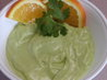 Chilled Avocado Orange Soup. Recipe by Molly53