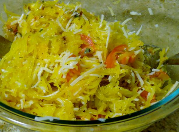Cheesy Spaghetti Squash. Photo by Bonnie G #2