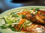 Bok Choy, Carrot and Apple Slaw