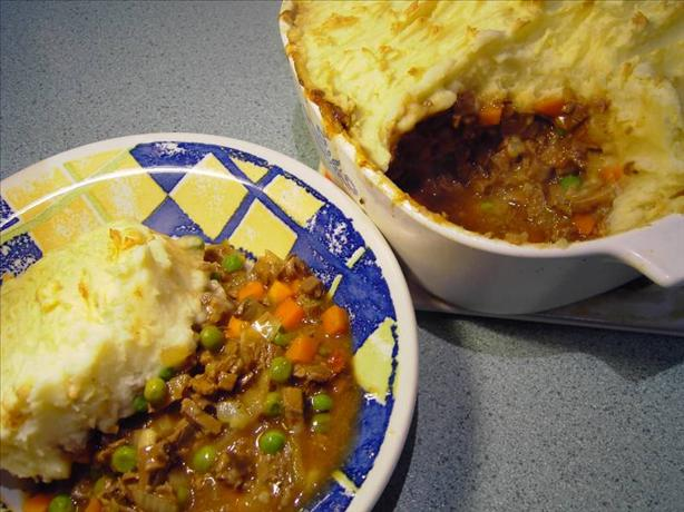 Shepherd's Pie. Photo by tomoko matsunaga