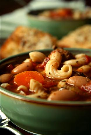 Crock Pot Pasta E Fagioli. Photo by GaylaJ