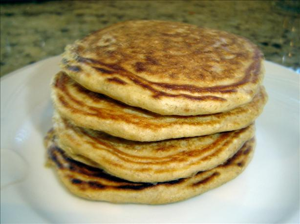 Oat and Wheat Germ Pancakes. Photo by Chris from Kansas