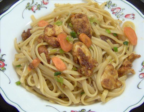 Chilli Crusted Chicken Noodles. Photo by Mama's Kitchen (Hope)