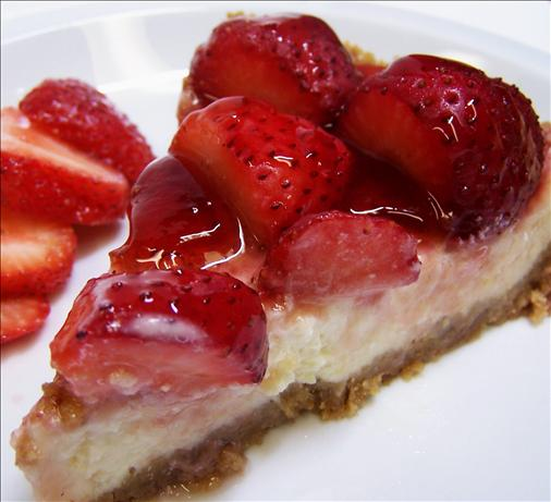Strawberry Cheesecake Pie. Photo by PaulaG