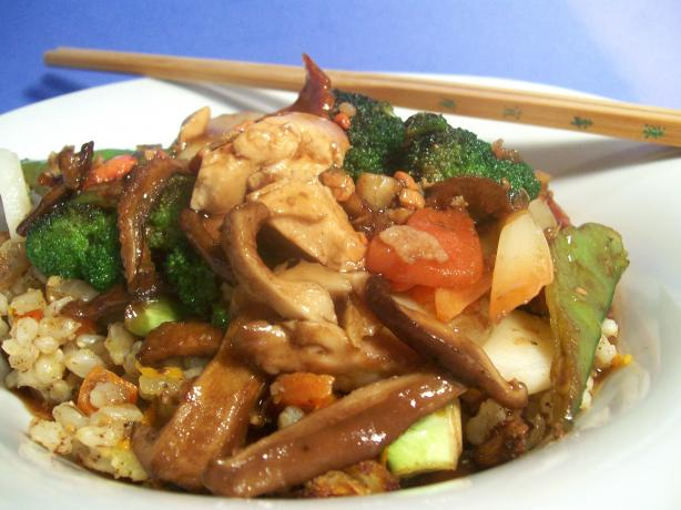Chinese Vegetable Stir Fry. Photo by Sharon123