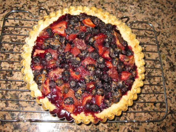 Blueberry Tart - Couldn't Be Easier. Photo by ~*lil_miss_SBC*~