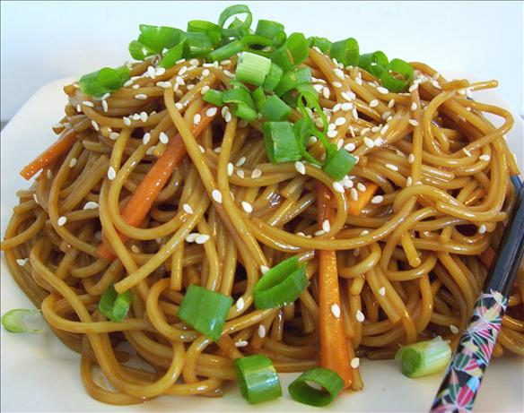 Cold Sesame Noodles. Photo by * Pamela *