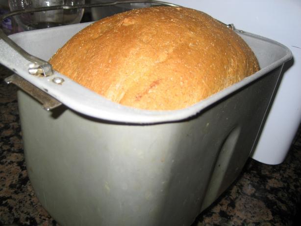 Whole Wheat Molasses Bread (bread Machine). Photo by Nuit