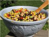 Two Bean and Corn Salad