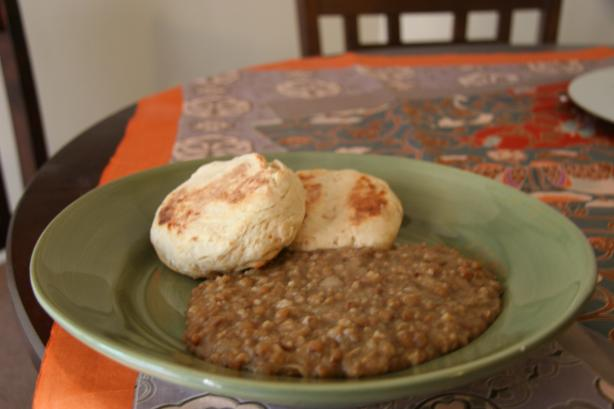 Diana&#39;s Egyptian Lentils &amp; Rice. Photo by esmerelda smoot