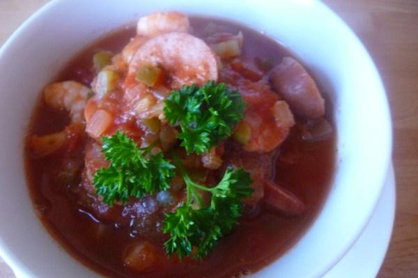 Low Carb Crock Pot Jambalaya. Photo by Tea Jenny
