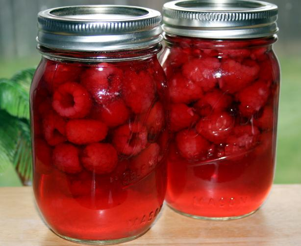 Canned Raspberries. Photo by **Tinkerbell**