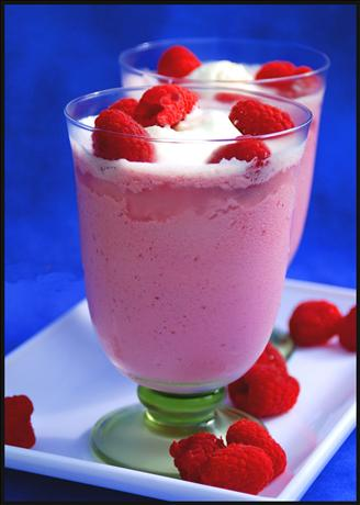 Raspberry Cheesecake Shake. Photo by Dine & Dish