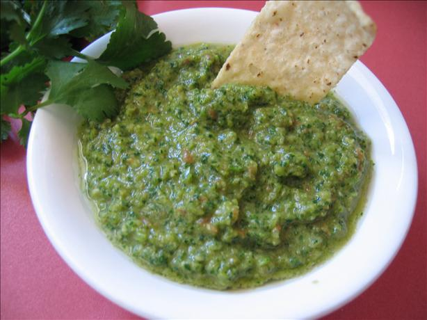 Garlic Cilantro Salsa. Photo by Babs7