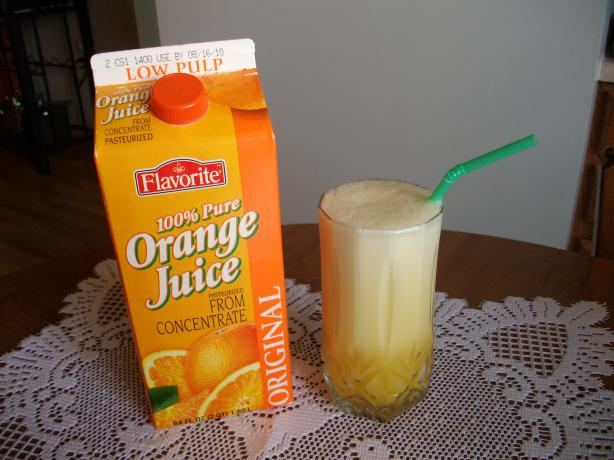 Orange Julius Knock-Off!!!. Photo by Domestic Goddess