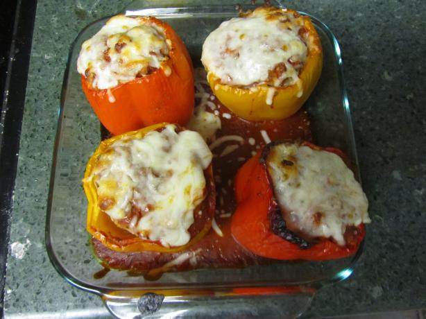 Stuffed Bell Peppers. Photo by Dr.JenLeddy