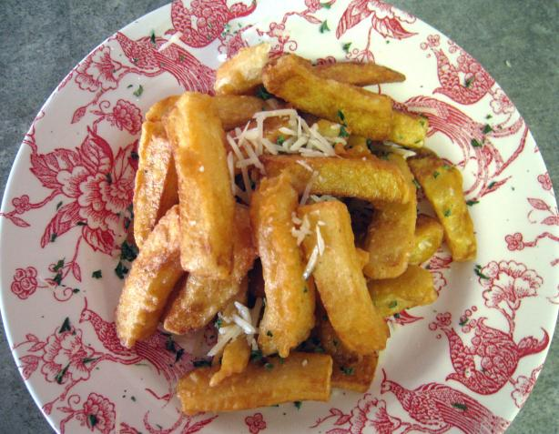 Crispy Spicy French Fries. Photo by Junebug