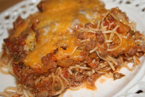 Baked Spaghetti by Paula Deen. Photo by ~Nimz~