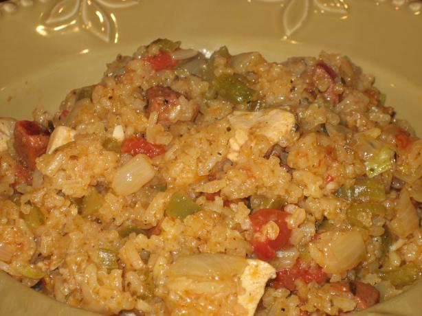 Louisiana Sausage Jambalaya. Photo by HeidiSue