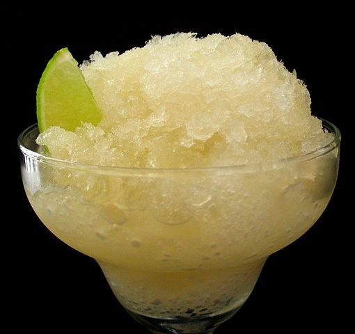 Freezer Margarita. Photo by Calee