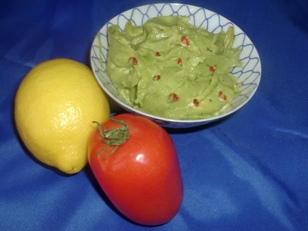 Guacamole. Photo by Bergy