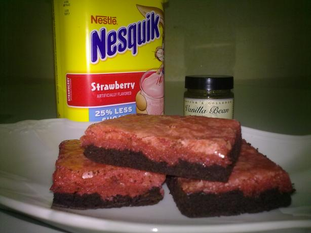Nesquik Brownies. Photo by cilipadi