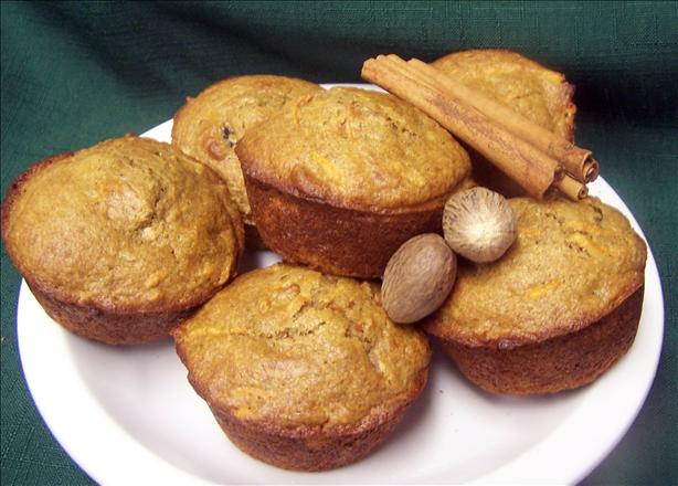 Cha-ching! Carrot Spice Muffins. Photo by PaulaG