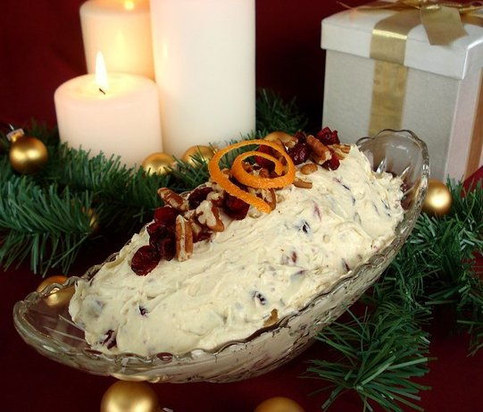 Pecan Cranberry Spread. Photo by Marg (CaymanDesigns)