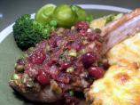 Pork Chops With Cranberry-thyme Sauce