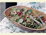 Raspberry and Spinach Salad