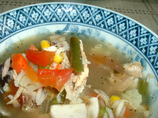 Soup, Vegetable or Chicken-Vegetable (No-Salt-Added)