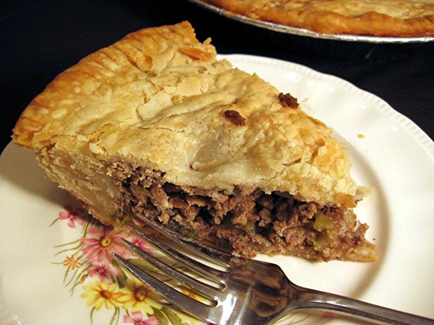 Tourtiere (French Canadian Meat Pie) - Dairy Free. Photo by Dreamer in Ontario